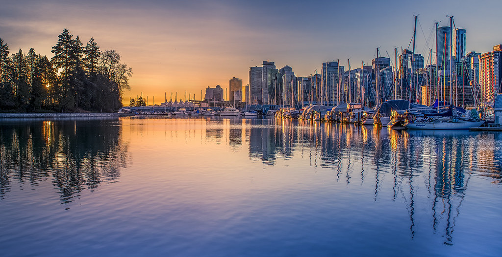 ***Vancouver Harbour Sunrise (In Explore)