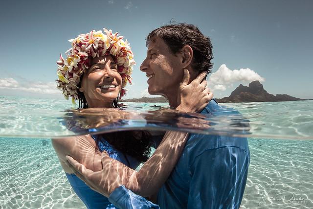 Monica & John - Bora Bora