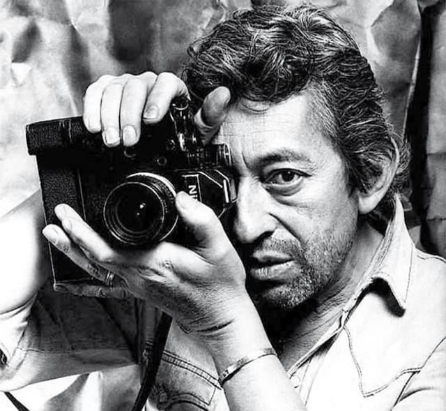 Gainsbourg et Nikon