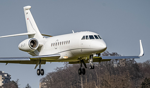 BRN/LSZB: JetAviation / Falcon 2000LX EASy / HB-JFI