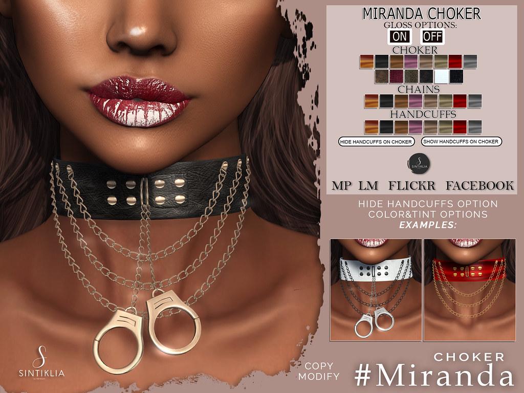 Chocker Miranda @Kinky