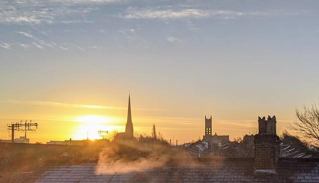 Morning skies at Preston