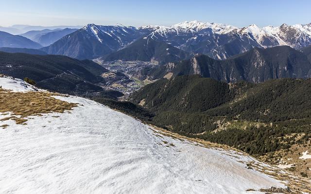 Ordino i La Massana desde el Casamanya, Andorra