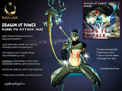Dragon Of Power Kung Fu Attack Hud Sanjak