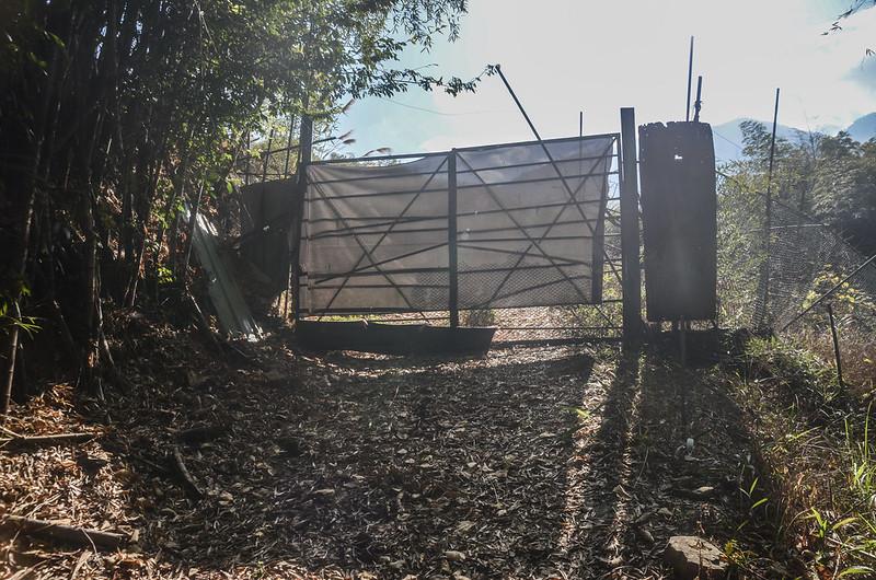 遠藤山果園鐵柵門