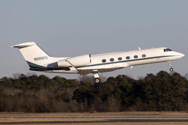 N225FD - Gulfstream 450 - KPDK - Feb 2021