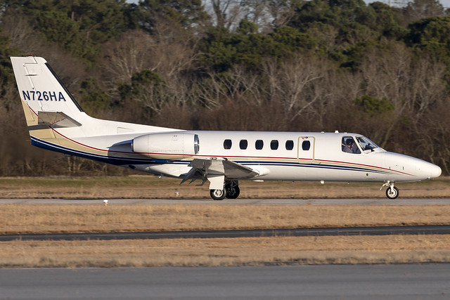 N726HA - Cessna 550 Citation II - KPDK - Feb 2021
