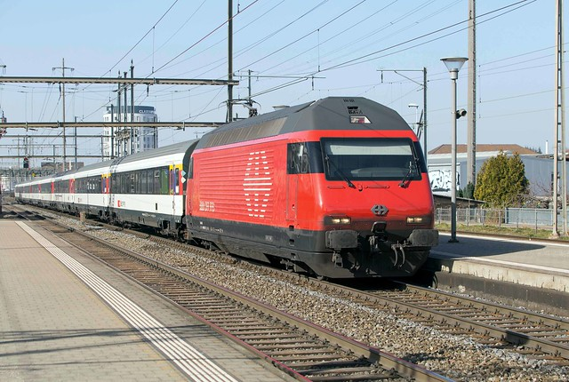 SBB Re 460 017 Pratteln