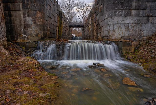 Historic Locks at Sidecut Metropark Maumee Ohio