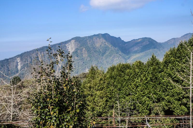 竹林山頂西北望大克山 (1)