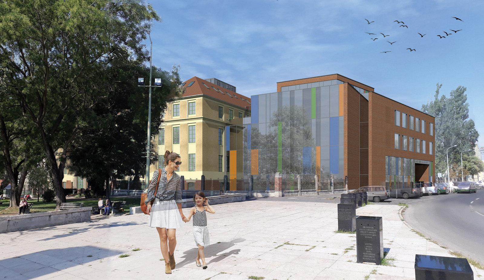 Átalakul a Kiskörút: új, modern klinikaépületet húznak fel a déli végében