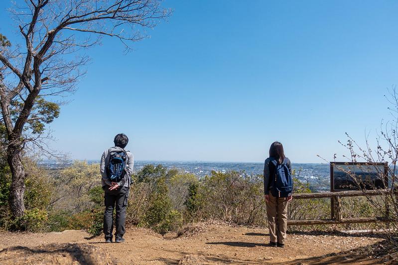 多峯主山の山頂の集合写真
