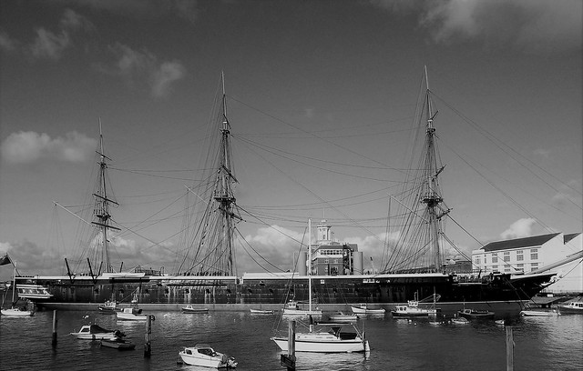 HMS Warrior. Portsmouth