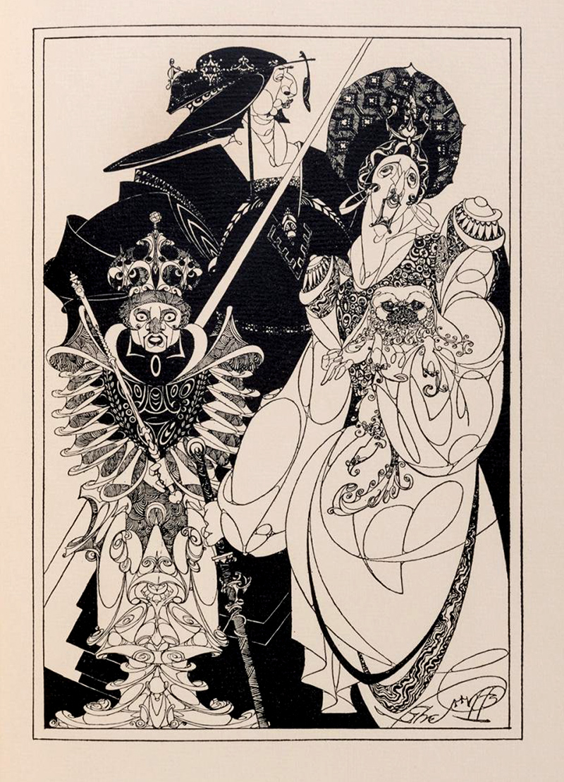 """Robert Stewart Sherriffs - Illustration from """"The Life and Death of Tamburlaine the Great"""" by Christopher Marlowe, 1930, 3"""