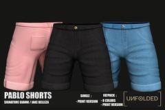♥ UNFOLDED X Pablo Shorts ♥