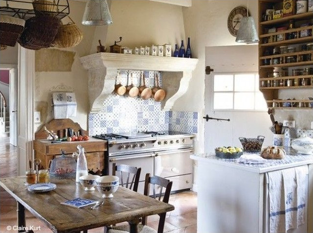 Provençal Country Kitchen