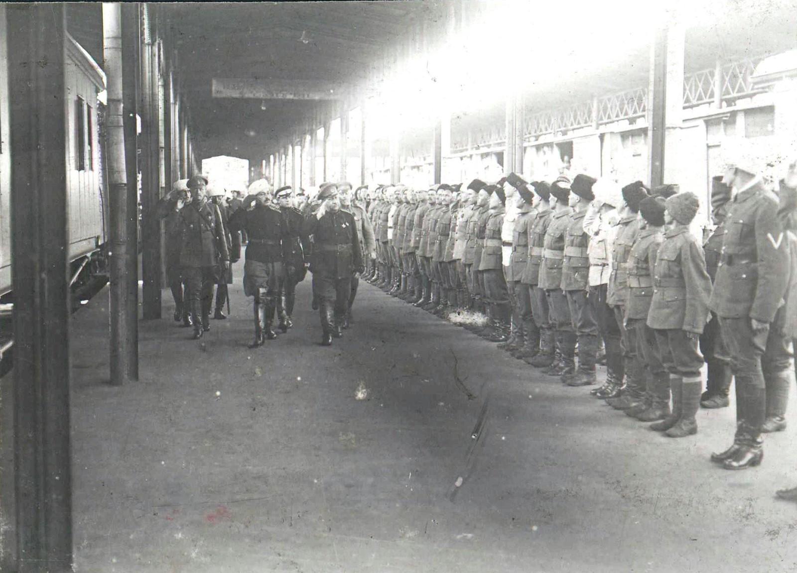 50. Конно-горная батарея бригады Н.С. Тимановского. 1919