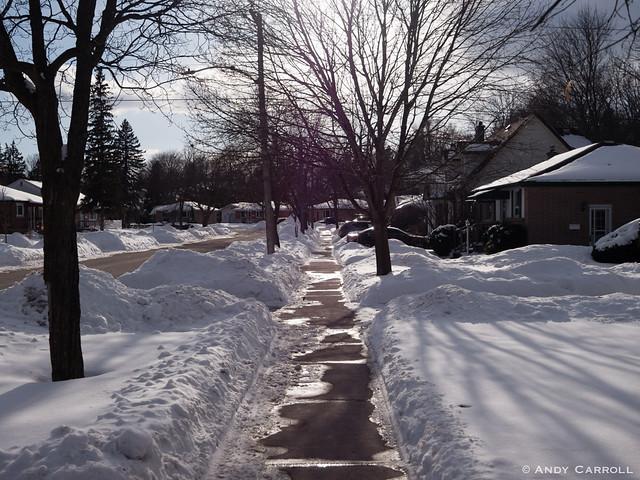 Philip St., sidewalk
