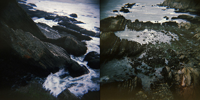 geology diptych