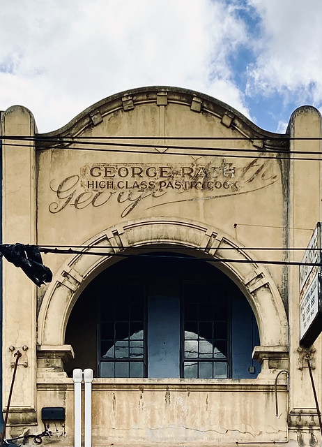 60/365. GEORGE RATH : HIGH CLASS PASTRY COOK.  Ghost sign on a building in Sydney Rd Brunswick. This business was in operation nearly 100 years ago.