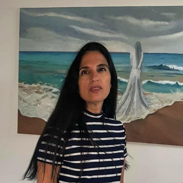 טליה טואג ציירת נוף ישראלית  Talia Toeg Isreali landscape painter