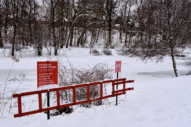 Ice Rescue Ladder Station