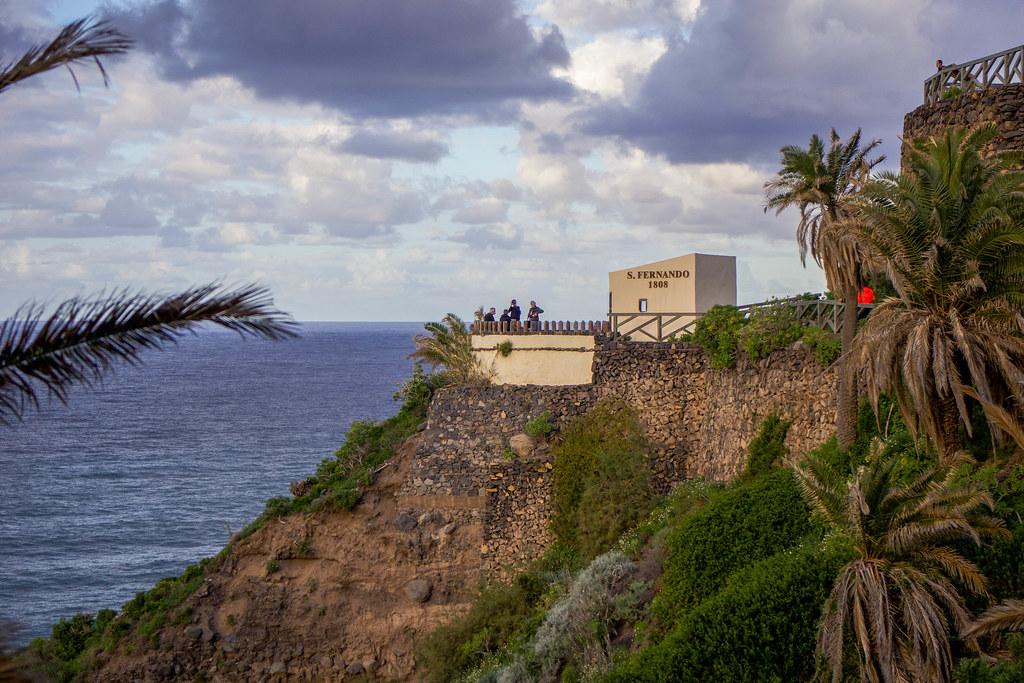 Vista del Fortin de San Fernando