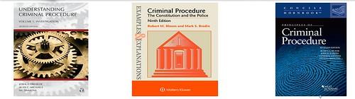 Criminal Procedure Study Aids cover art
