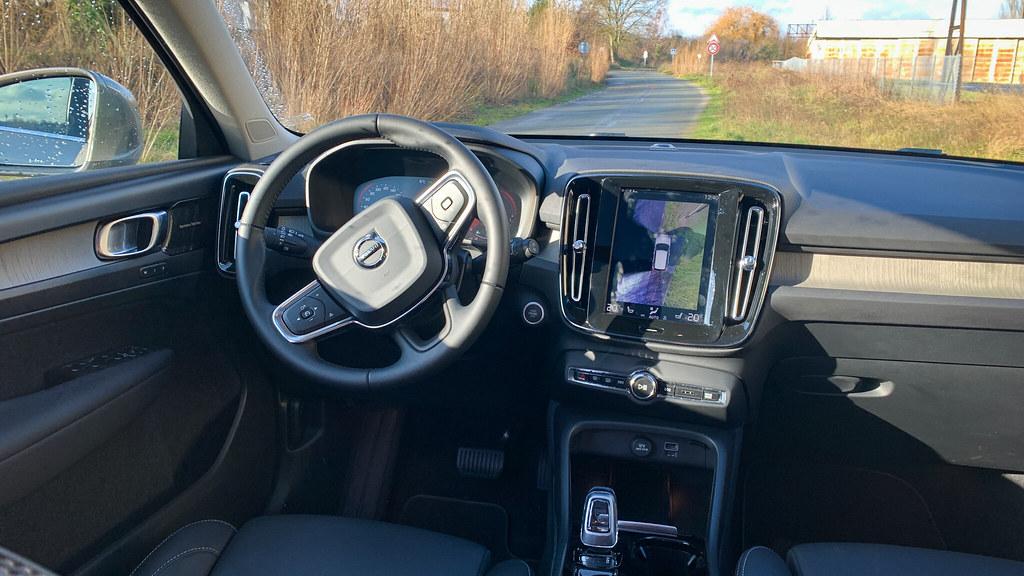Essai Volvo XC 40 T5 Hybride inscription Luxe