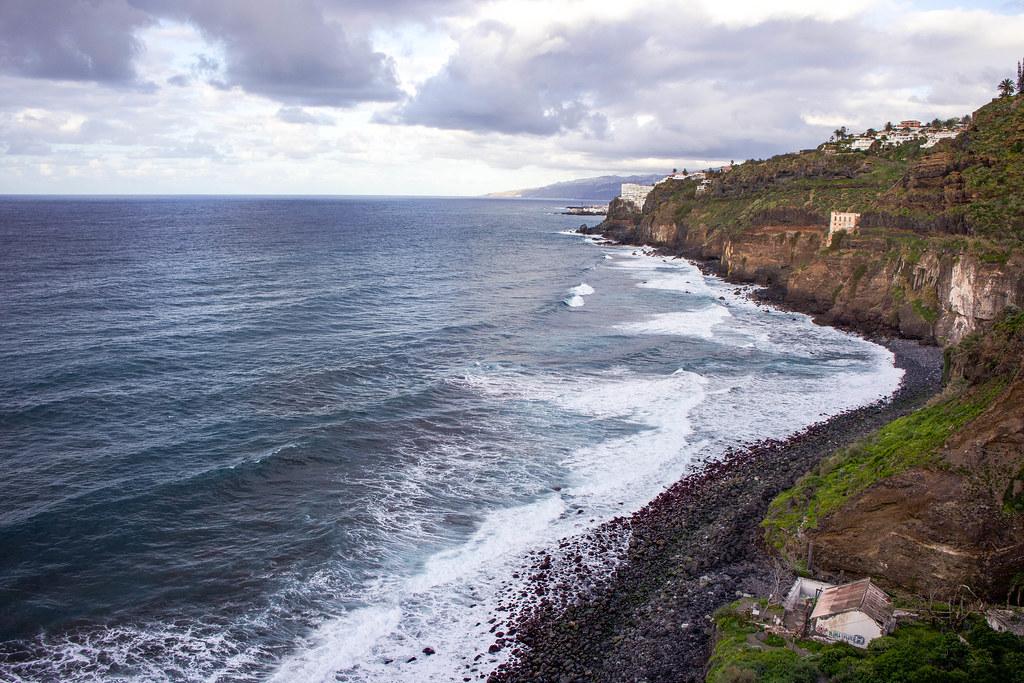 Playa la Fajana en Tenerife