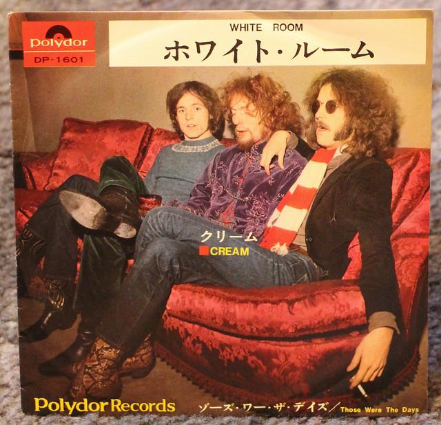 Cream - White Room - Japan Retro Vinyl Record