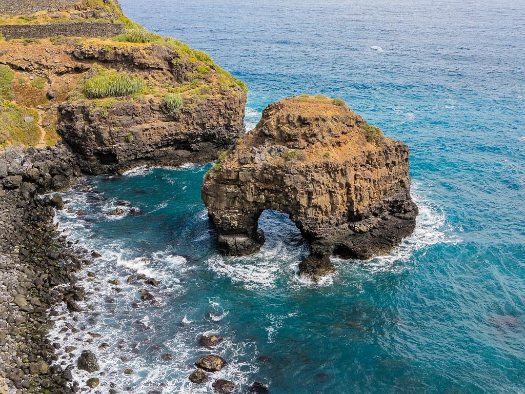 Playa de Los Roques en Tenerife