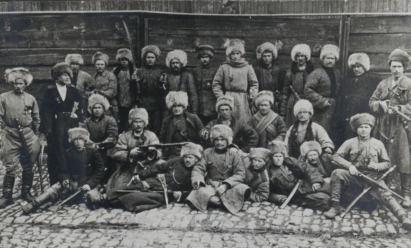 43. 1919. «Волчья сотня» генерала А. Г. Шкуро в Ростове-на-Дону.