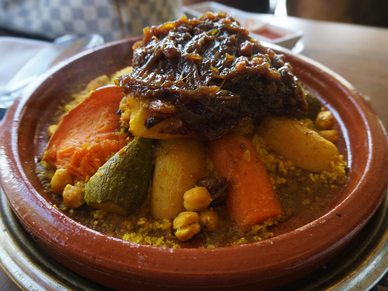 Zayyane Rabat couscous