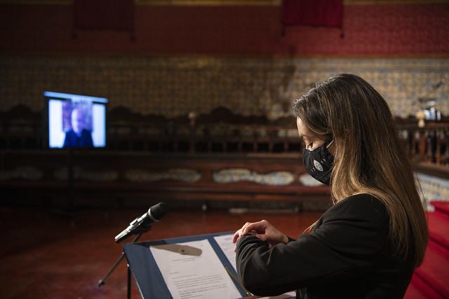 Cerimónia dos 731 anos da Universidade de Coimbra