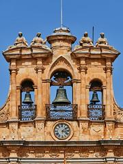 Reloj de las Casas Consistoriales.