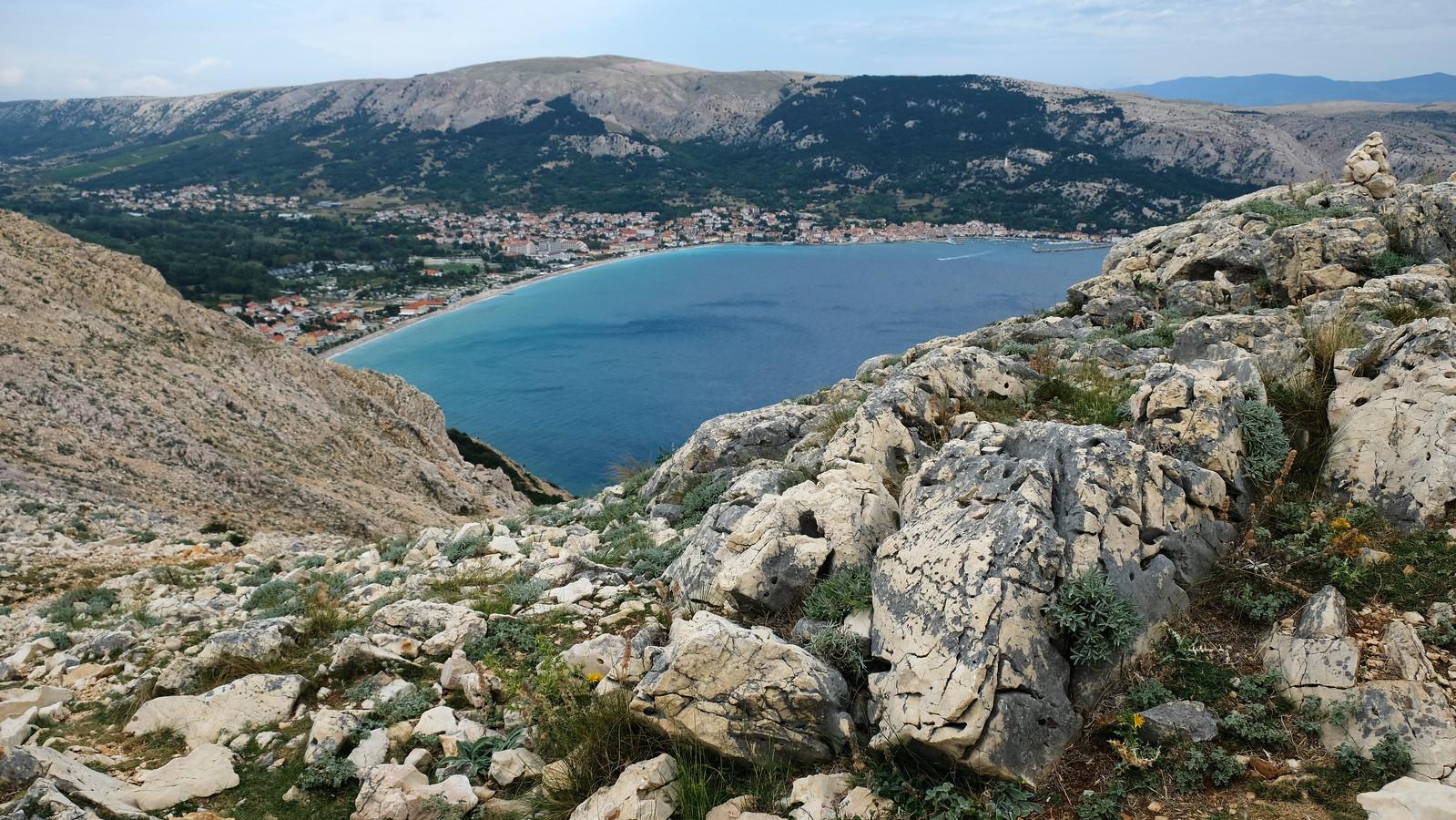 Hiking to Bag, Krk Island, Croatia