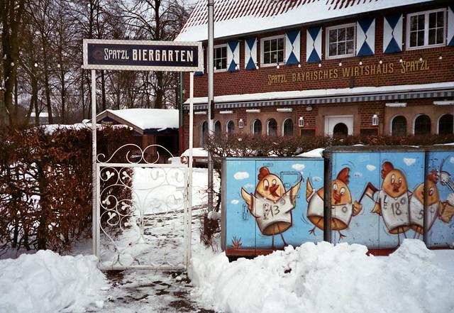 Biergarten - I shot film
