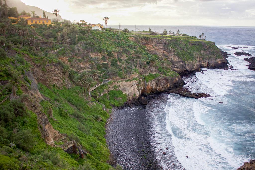 Playa de Castro en Los Realejos