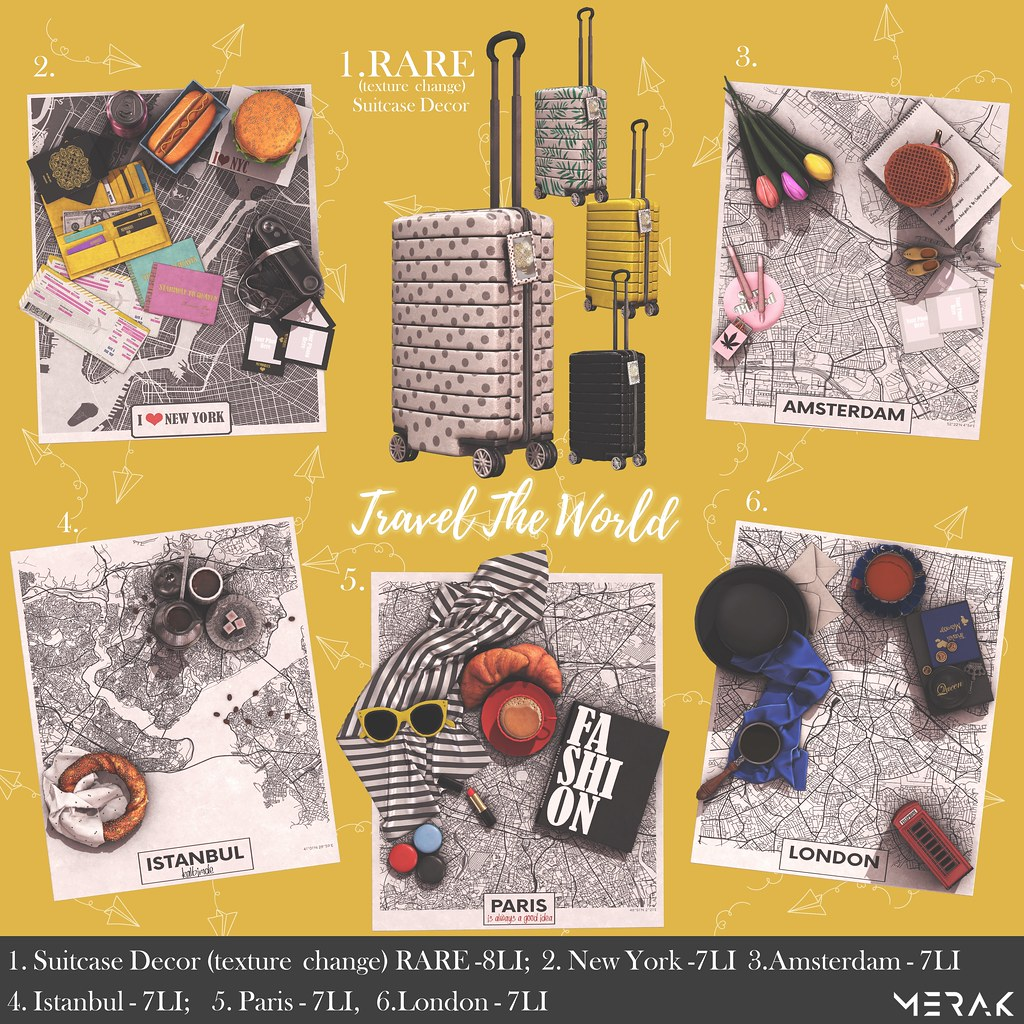Merak - Travel the World@The Arcade Gacha