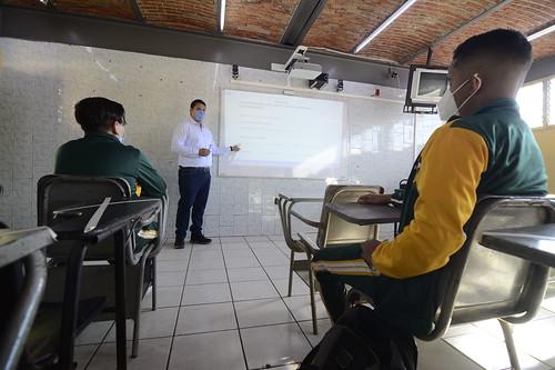 01 Mar 2021 . Secretaría de Educación . Arranque de los grupos de seguimiento académico en plánteles escolares del estado.