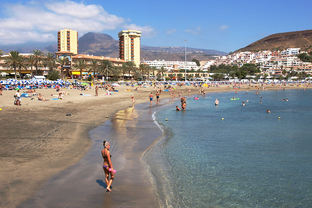 Playa las Vistas, Arona, Tenerife