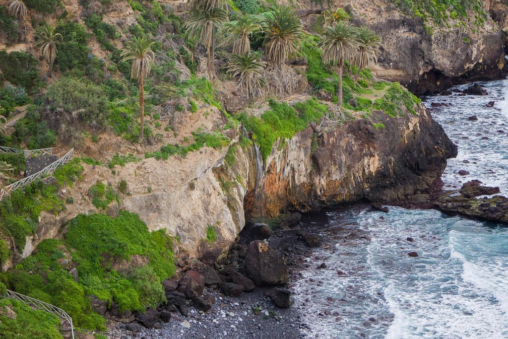 Cascada de la playa de Castro
