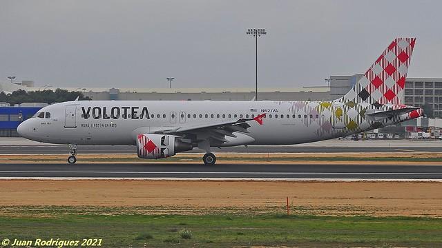 N621VA - Volotea - Airbus A320-214 - PMI/LEPA