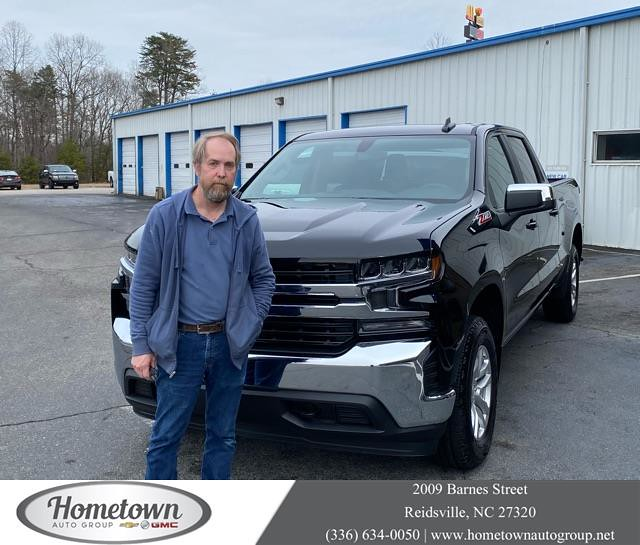 #HappyBirthday Gregory from Robert Bailey at Hometown Chevrolet Buick GMC!