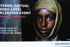 Secretary Blinken Participates Virtually in the 2021 High-Level Pledging Event for the Humanitarian Crisis in Yemen