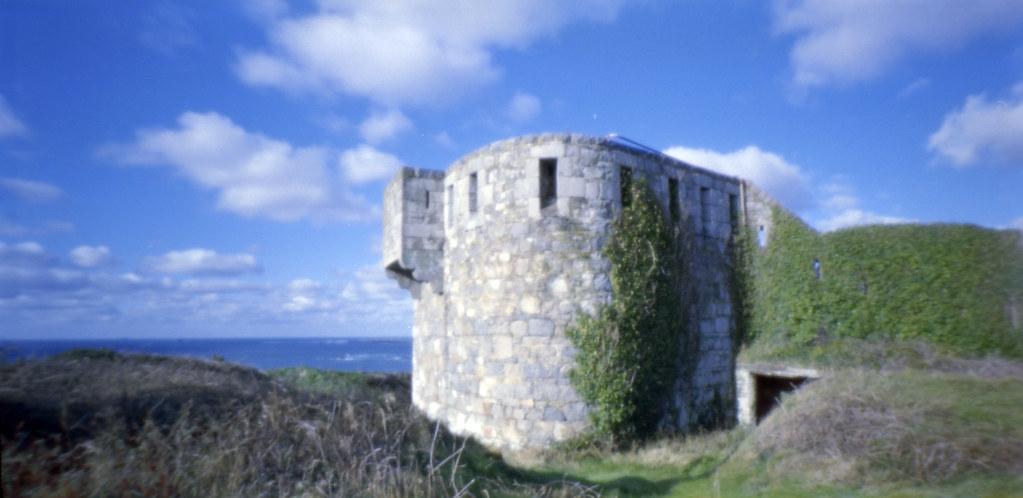 pinhole Fort Tourgis alderney