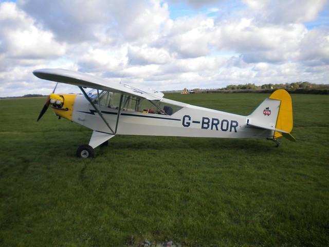 G-BROR Piper J3C-65 Cub