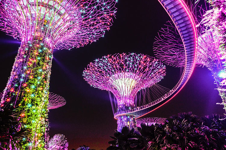 Garden Rhapsody at Gardens by the Bay Singapore