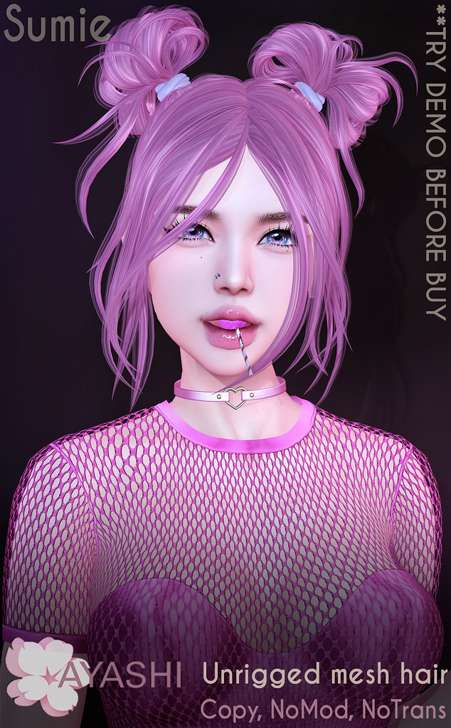 [^.^Ayashi^.^] Sumie hair special for Kinky Event